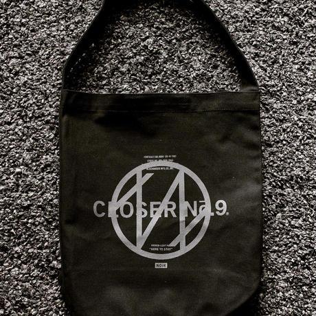 BLACKORDER ORDER-049 『CLOSER No.9』HEAVY CANBAS  SHOULDER BAG  BLACK × GRAY