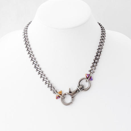 NASCAN & SPIKE short necklace