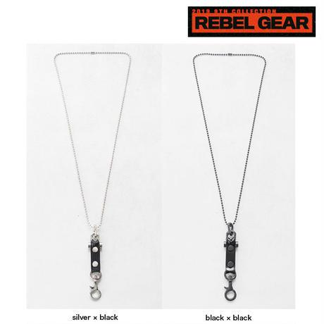 REBEL GEAR ball chain neckholder