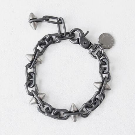 SPIKE & oval chain bracelet