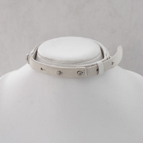 LEATHER LUMP choker