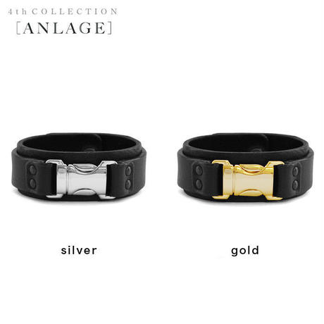 FASTEX buckle leather bracelet