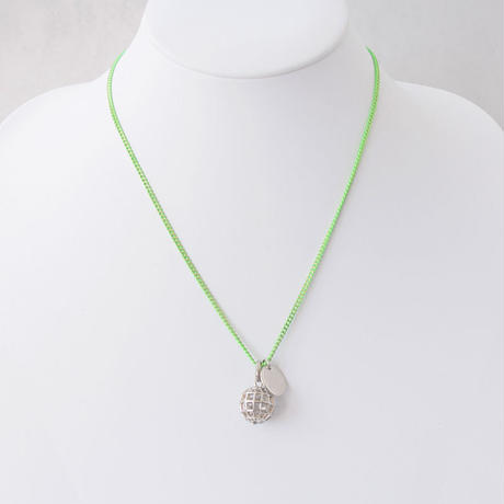 3D EARTH short necklace
