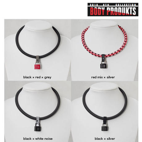 SHOCK CODE padlock necklace