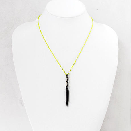 BULLET chain necklace small (color)