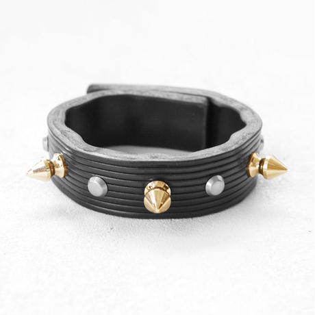 SPIKE leather bracelet
