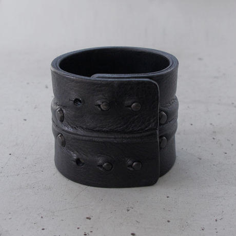 LEATHER LUMP bracelet