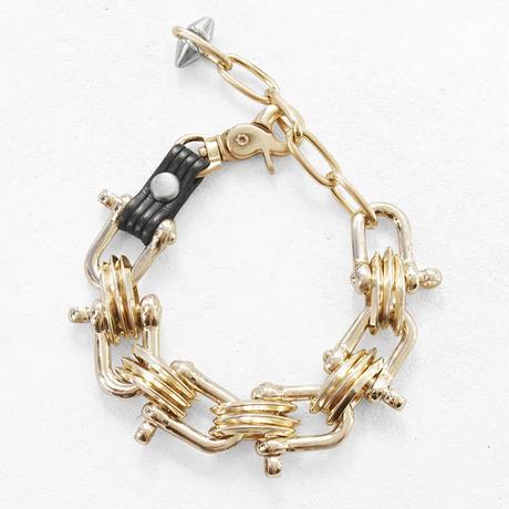 INDUATRIAL SHACKLE metal bracelet