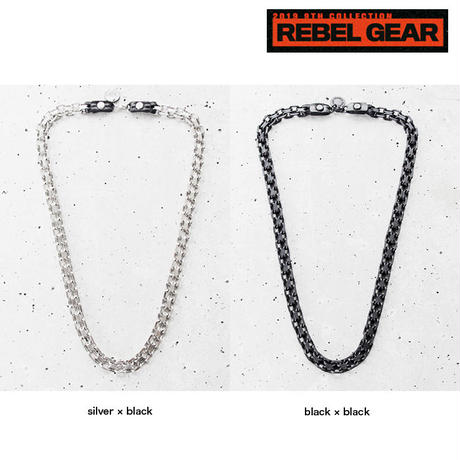DOUBLE CHAIN middle necklace