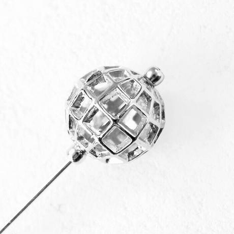 3D EARTH hat pin broach