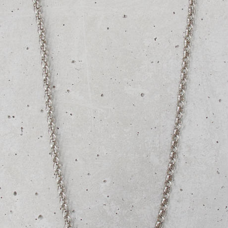 CIRCLE CHAIN long necklace