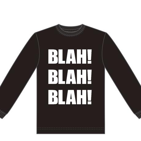 Newアイテム!!   BLAH BLAH BLAH ロンT (黒×白)