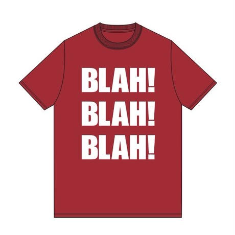 BLAH BLAH BLAH T-shirt (Red)