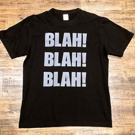 BLAH BLAH BLAH T-shirt (Black)
