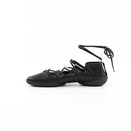 トリッペン レディース ギリーレースアップレザーシューズ trippen SCOTCH-WAW ブラック