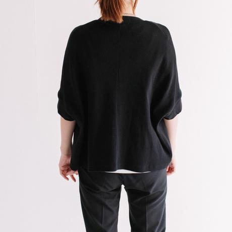 コットンワッフル 半袖カーデ【BB12-947】