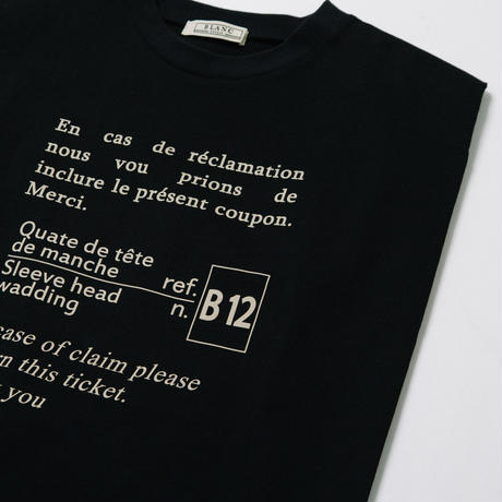 COTTON天竺 肩パット入りノースリTOPS【BB12-942】