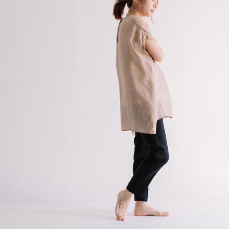 ラミーカルゼ フレンチ袖プルオーバーブラウス【BB12-124】