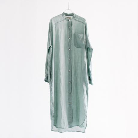 ラミーローン パールボタンシャツワンピース【BB11-401】