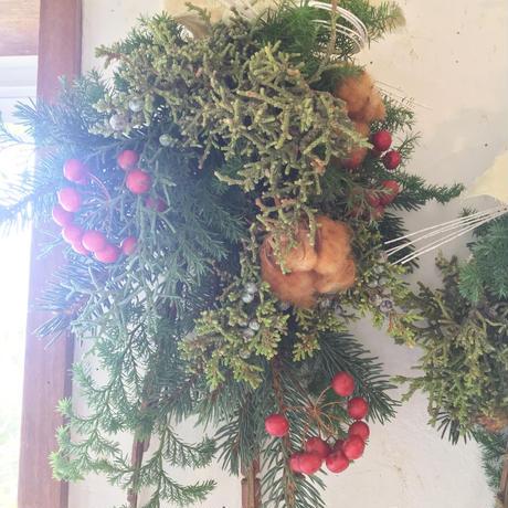 もみの木スワッグ〜お正月お飾りにも〜
