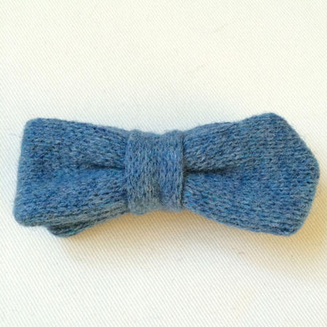 wool knit*bow tie