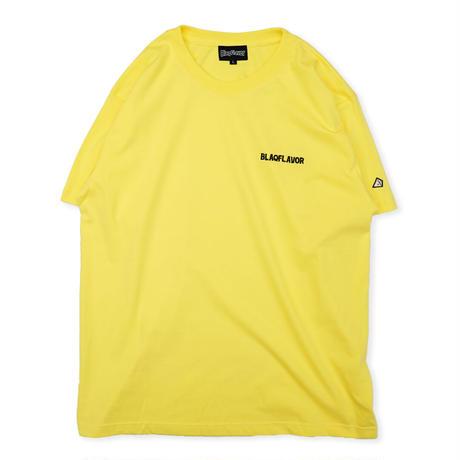 S/S BlaqFlavor EMB Tee - Yellow