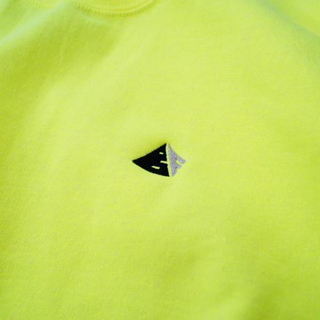 Chest Logo Sweat - Neon Yellow