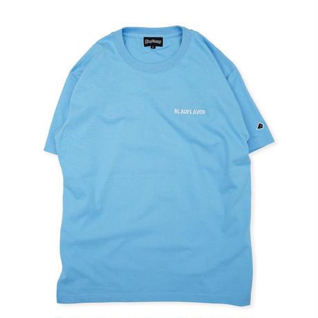 S/S BlaqFlavor EMB Tee - L.Blue