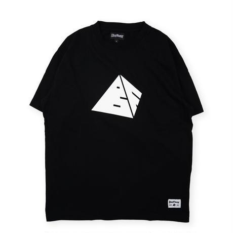S/S Pyramid Logo Tee - Black