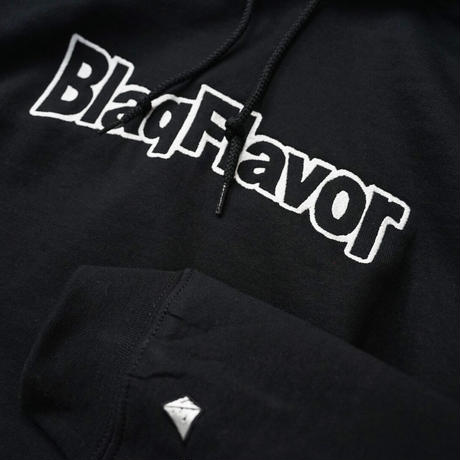 Hooded BF Frame Logo Sweat - Black