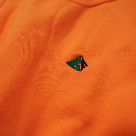 Chest Logo Sweat - Orange