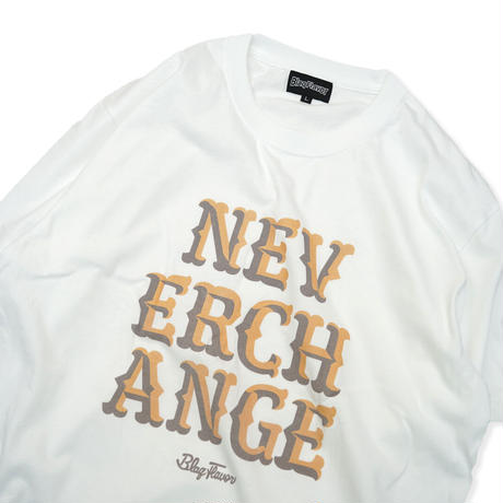 S/S Never Change Tee - White