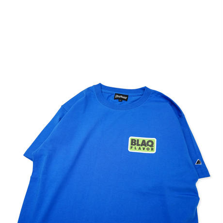S/S Round Flame Tee - Blue