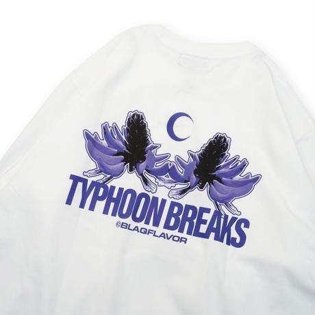 S/S Typhoon Breaks Tee - White