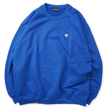 Chest Logo Sweat - Blue