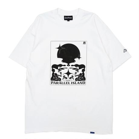 S/S Parallel Island Tee - White