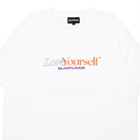 S/S Self Care Tee - White