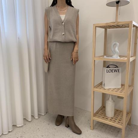 9/14入荷着心地抜群・上質ニットタイトスカート