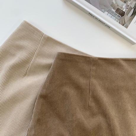 ニュアンスコーデュロイマーメイドスカート