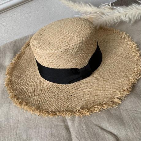 サイズ調節可能カンカン帽