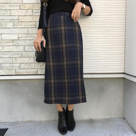 10/09入荷・チェックペンシルスカート