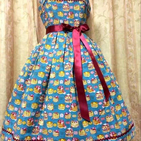 モデル着用B品 パンケーキジャンパースカート