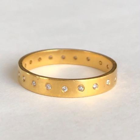 k22 ダイヤモンド フルエタニティ リング