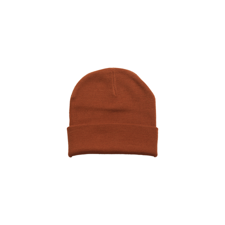 Neon sign Cuff Beanie [COPPER]