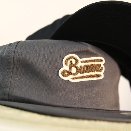 MOCO LOGO Unstructured 5-Panel Snapback [CHARCOAL]