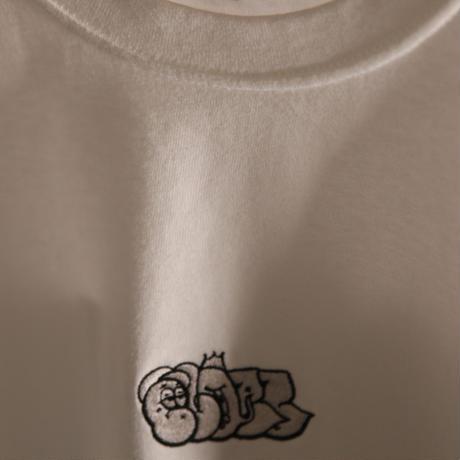 BLAZZ by IRA HEAVY L/S TEE [WHITE]
