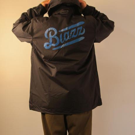 BLAZZ by IRA Water Resistant Windbreaker Anorak [BLACK]