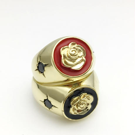 LUCKY ROSE RING BRASS / ラッキー ローズ リング 真鍮