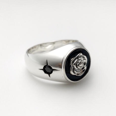 LUCKY ROSE RING SILVER / ラッキー ローズ リング シルバー