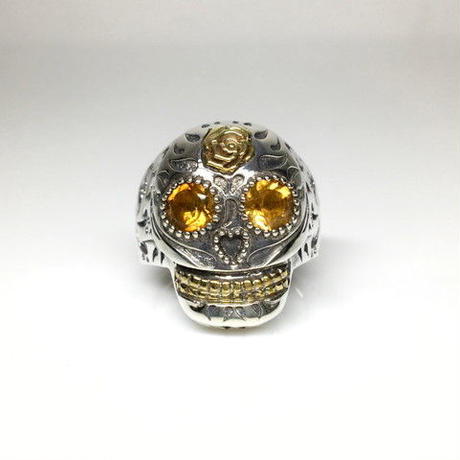 BF SKULL RING ST COMBINATION M / BF スカルリングSTコンビ M